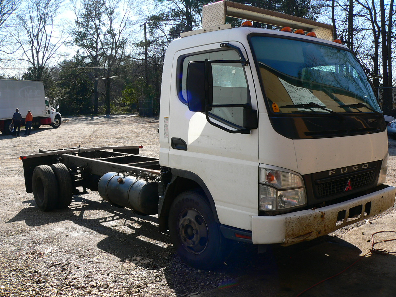 Used Light Duty Trucks For Sale Mitsubishi Transmission Rebuilt Dooley Vortex 454 Gas 75 Miles On 174k Chassis